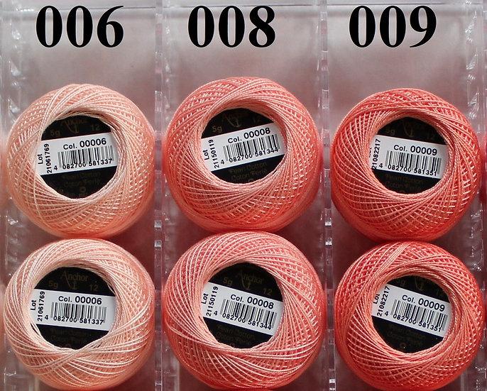0006 Anchor Pearl 12 Cotton