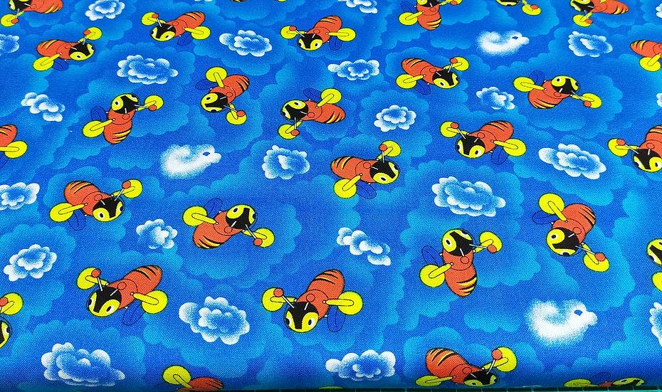 85370 Buzzy Bee Cloud  101 Blue
