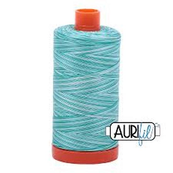 4654 Turquoise Foam Aurifil Thread 50 Wt 100% Cotton