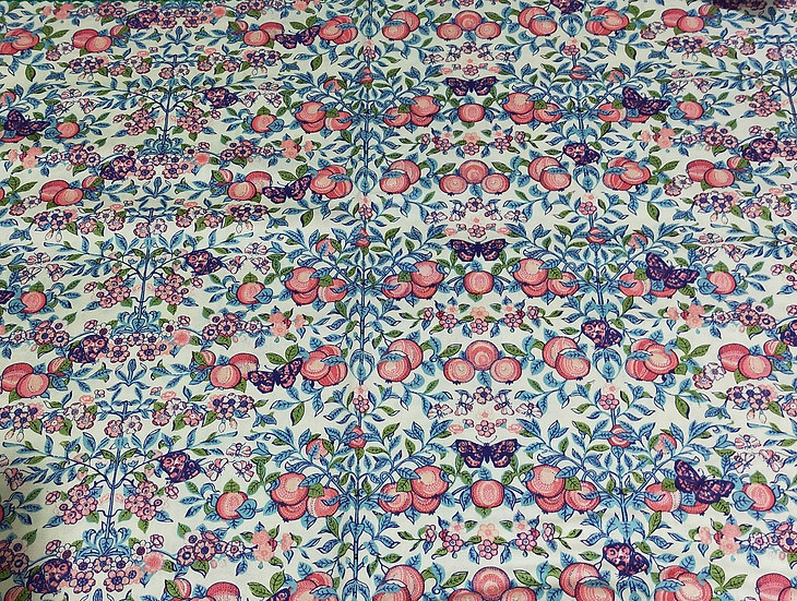 LB0477  Liberty   Orchard Coral