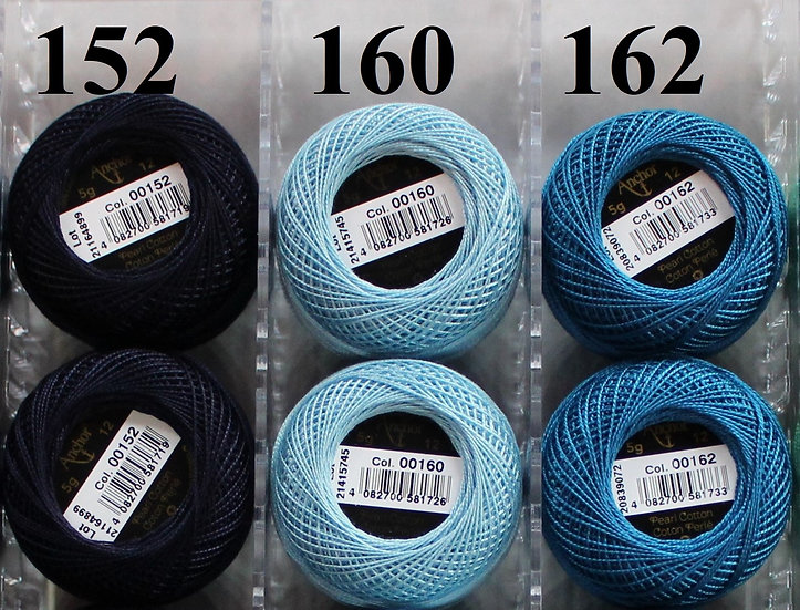 0160 Anchor Pearl 12 Cotton