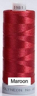 1981 Madeira Polyneon 40 Embroidery Thread