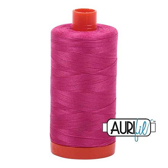 4020 Fushia Aurifil Thread 50 Wt 100% Cotton
