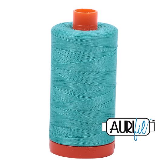 1148 turquoise  Aurifil Thread 50 Wt 100% Cotton