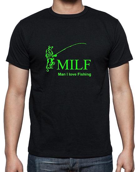 MILF  T-Shirt Green