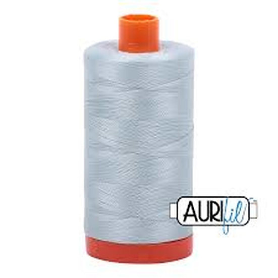 5007 Light Grey Blue Aurifil Thread 50 Wt 100% Cotton