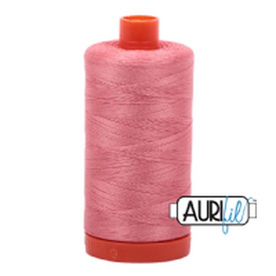 2435 Peachy Pink Aurifil Thread 50 Wt 100% Cotton