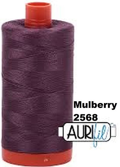 2568 Aurifil Thread 50 Wt 100% Cotton