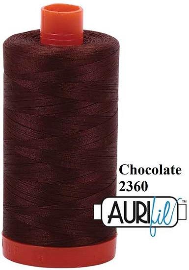 2360 Aurifil Thread 50 Wt 100% Cotton