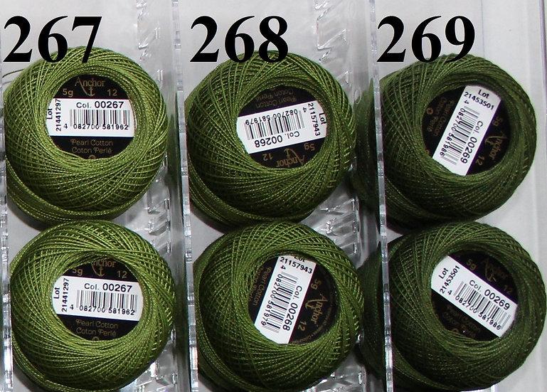 0267 Anchor Pearl 12 Cotton