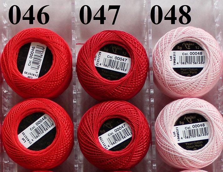 0047 Anchor Pearl 12 Cotton
