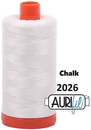 2026 Aurifil Thread 50 Wt 100% Cotton
