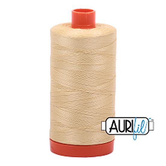 2125 Wheat Aurifil Thread 50 Wt 100% Cotton