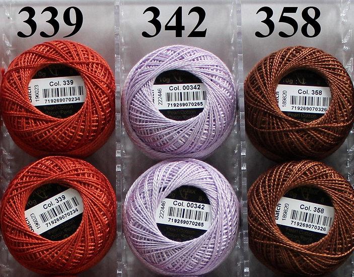 0358 Anchor Pearl 8 Cotton
