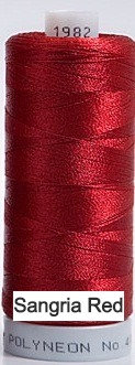 1982 Madeira Polyneon 40 Embroidery Thread
