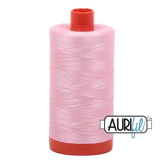 2423 Baby Pink Aurifil Thread 50 Wt 100% Cotton