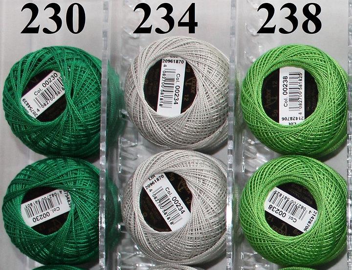 0230 Anchor Pearl 12 Cotton