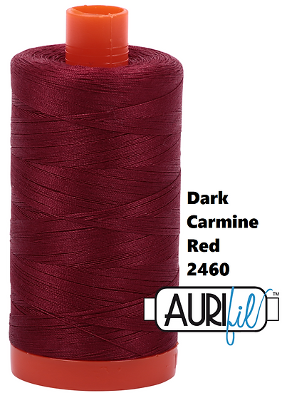 2460 Aurifil Thread 50 Wt 100% Cotton