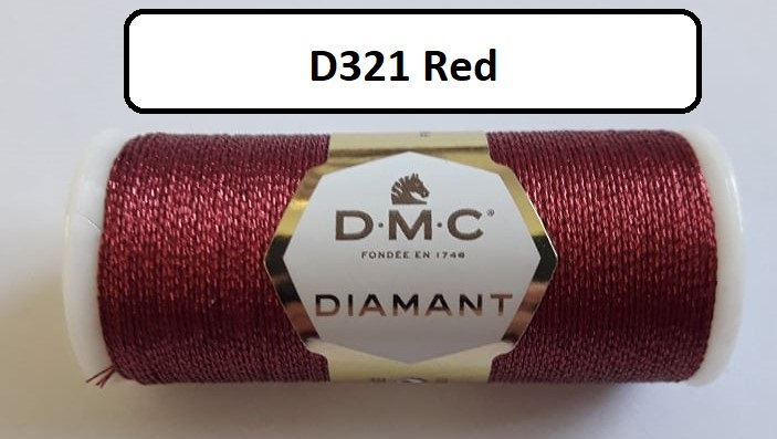 321  DMC  Diamant Metallic Thread