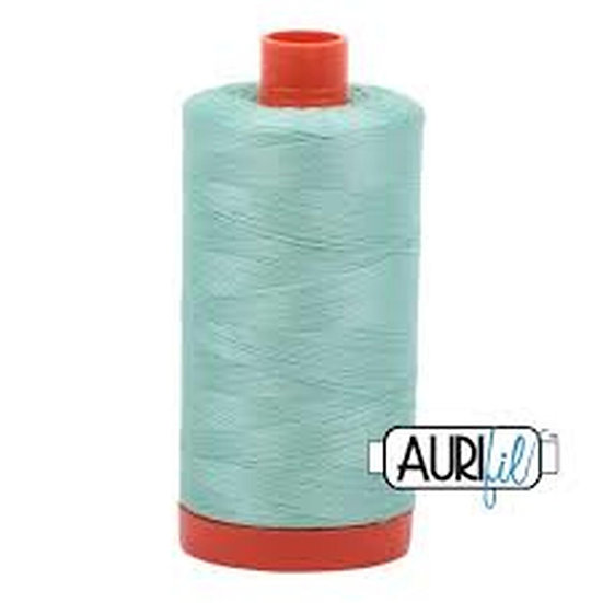 2835 Medium Mint Aurifil Thread 50 Wt 100% Cotton