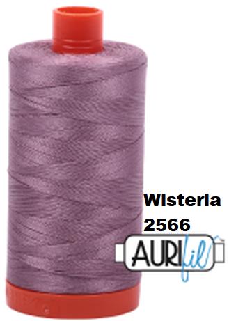 2566 Aurifil Thread 50 Wt 100% Cotton