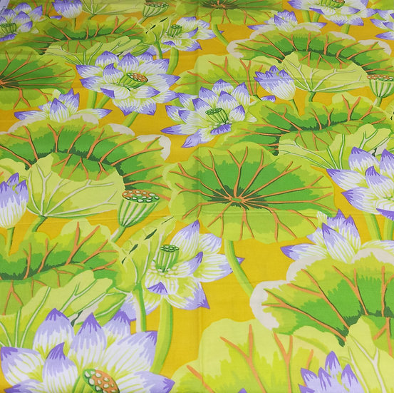GP93  Lake Blossoms  Kaffe Fassett  Yellow