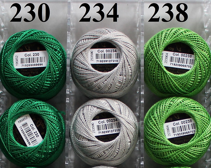 0230 Anchor Pearl 8 Cotton