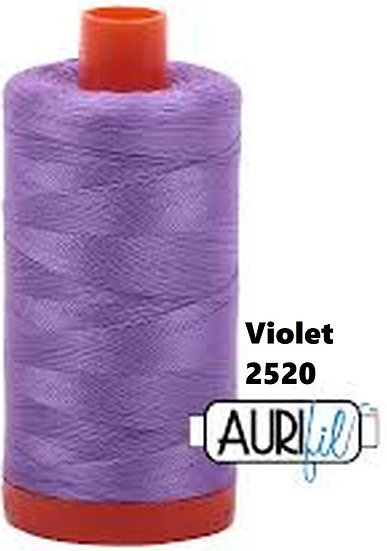 2520 Aurifil Thread 50 Wt 100% Cotton