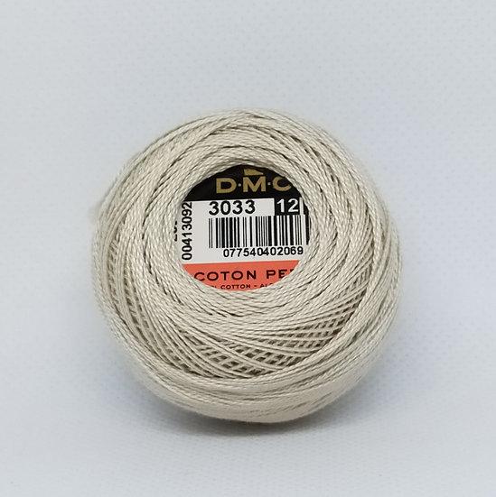 3033  DMC Pearl 12 10g 120 Mtr Balls