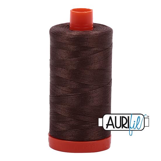1140 Bark Aurifil Thread 50 Wt 100% Cotton