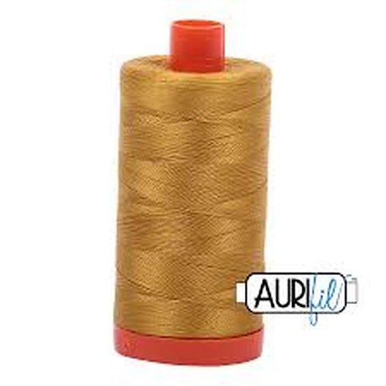 5022 Mustard Aurifil Thread 50 Wt 100% Cotton