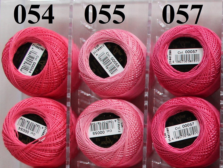 0055 Anchor Pearl 12 Cotton