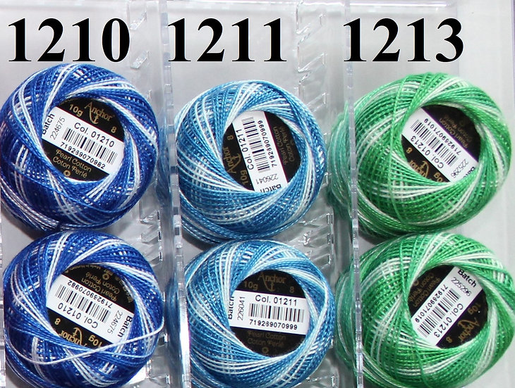 1210 Anchor Pearl 8 Cotton