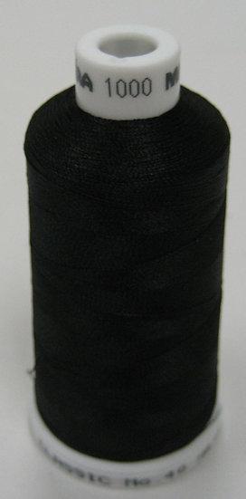 1000  Black Madeira Rayon Classic 40