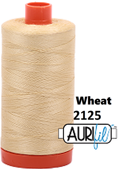 2125 Aurifil Thread 50 Wt 100% Cotton