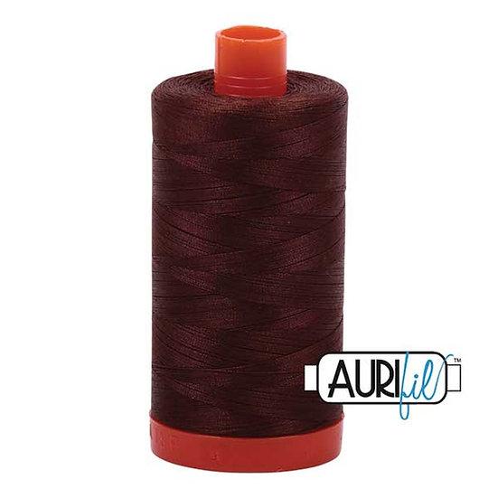 2360 Chocolate Aurifil Thread 50 Wt 100% Cotton
