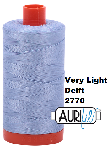 2770 Aurifil Thread 50 Wt 100% Cotton