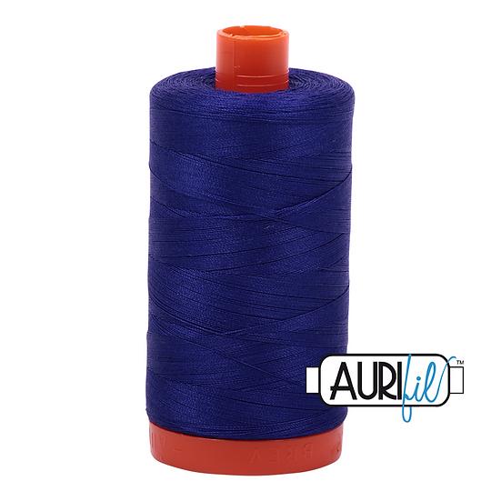 1200 purple blue Aurifil Thread 50 Wt 100% Cotton