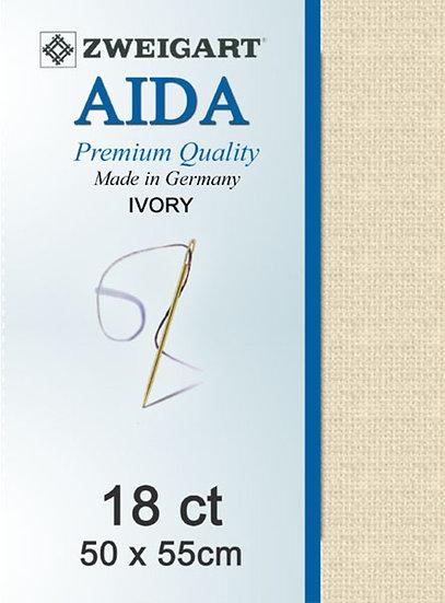 18 Ct Aida Ivory FQ
