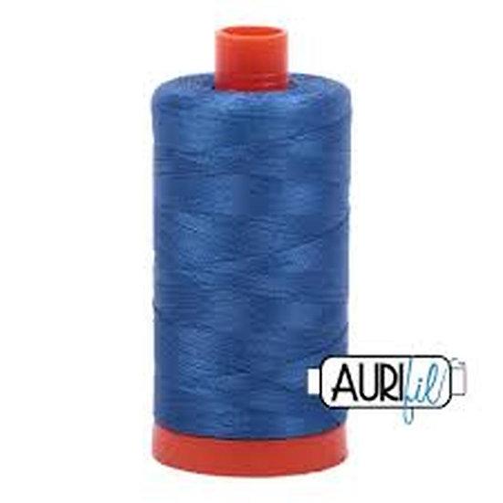 2730 Delft Blue  Aurifil Thread 50 Wt 100% Cotton