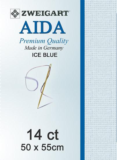 14 Ct Aida Ice Blue FQ