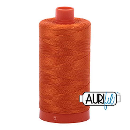 2235 Orange Aurifil Thread 50 Wt 100% Cotton