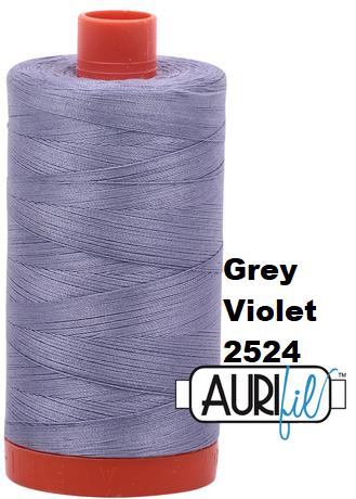 2524 Aurifil Thread 50 Wt 100% Cotton