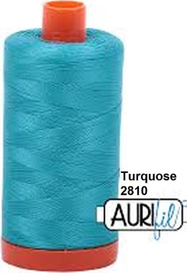 2810 Aurifil Thread 50 Wt 100% Cotton