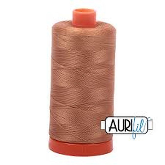 2335 Light Cinnamon Aurifil Thread 50 Wt 100% Cotton