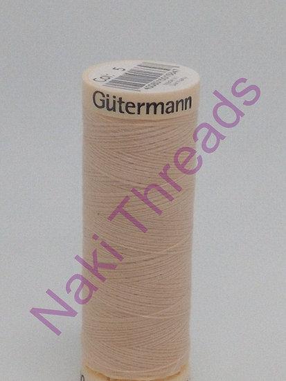 # 5 Gutermann Sew-All Thread