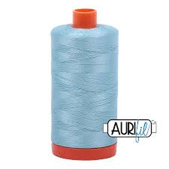 2805 Light Grey Turquoise  Aurifil Thread 50 Wt 100% Cotton