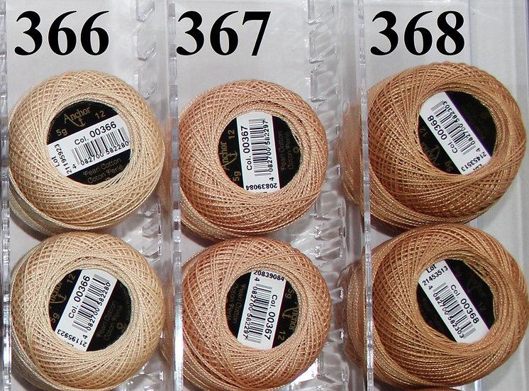 0366 Anchor Pearl 12 Cotton