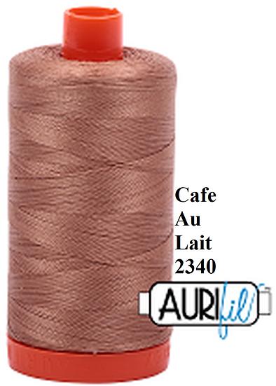 2340 Aurifil Thread 50 Wt 100% Cotton