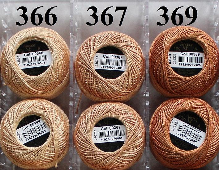 0369 Anchor Pearl 8 Cotton